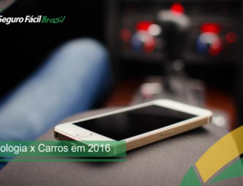 Tecnologia x Carros em 2016