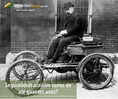 Seguradoras aceitam carros de até quantos anos?